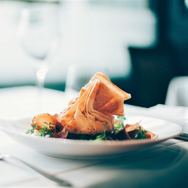 Restaurant møllehuset konference møde middag mad gourmet forplejning