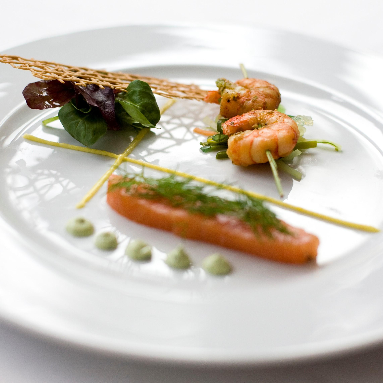 Restaurant Møllehuset Frederikshavn årstidens menu sæsonmenu forret