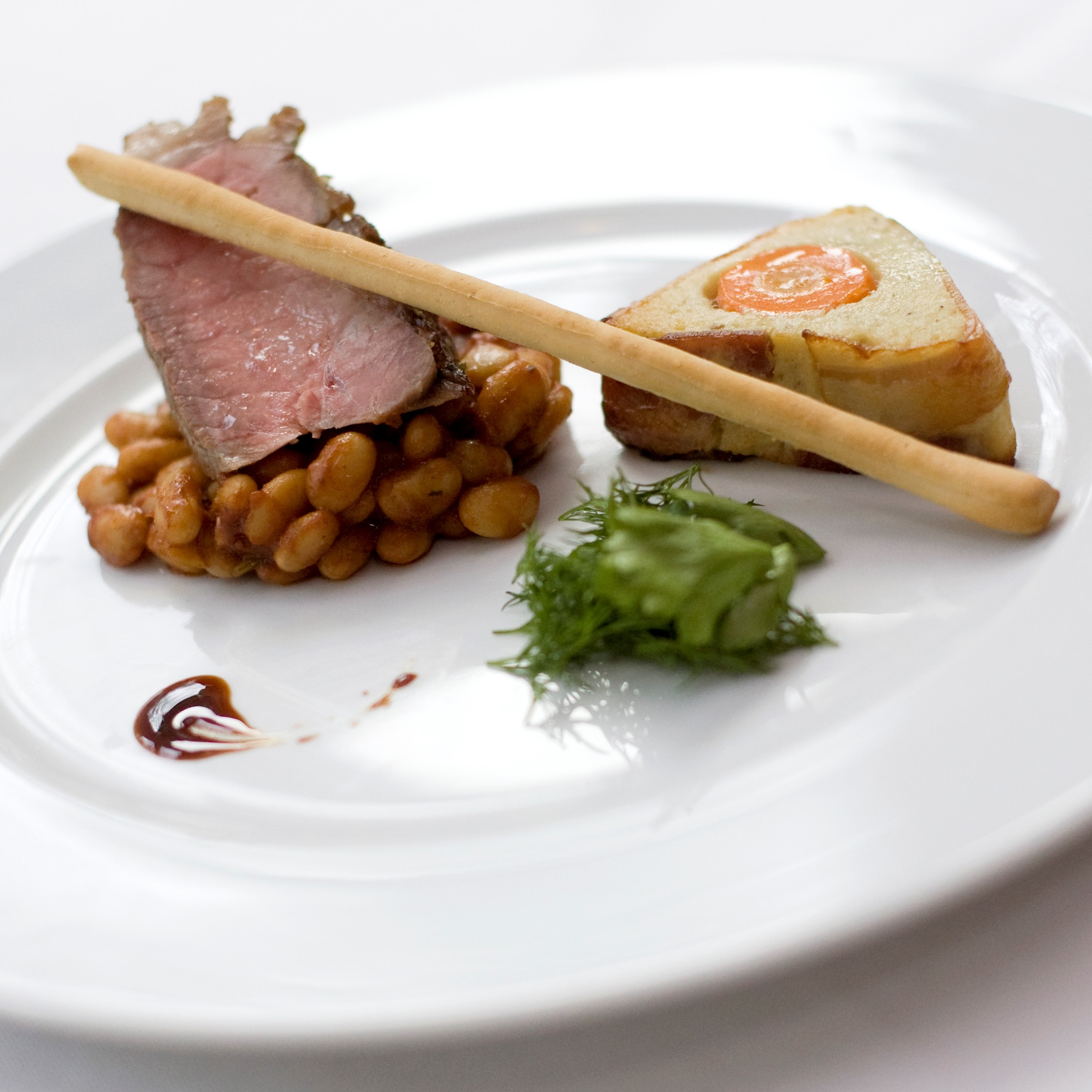 Restaurant Møllehuset Frederikhavn Årstidens menu sæsonmenu hovedret