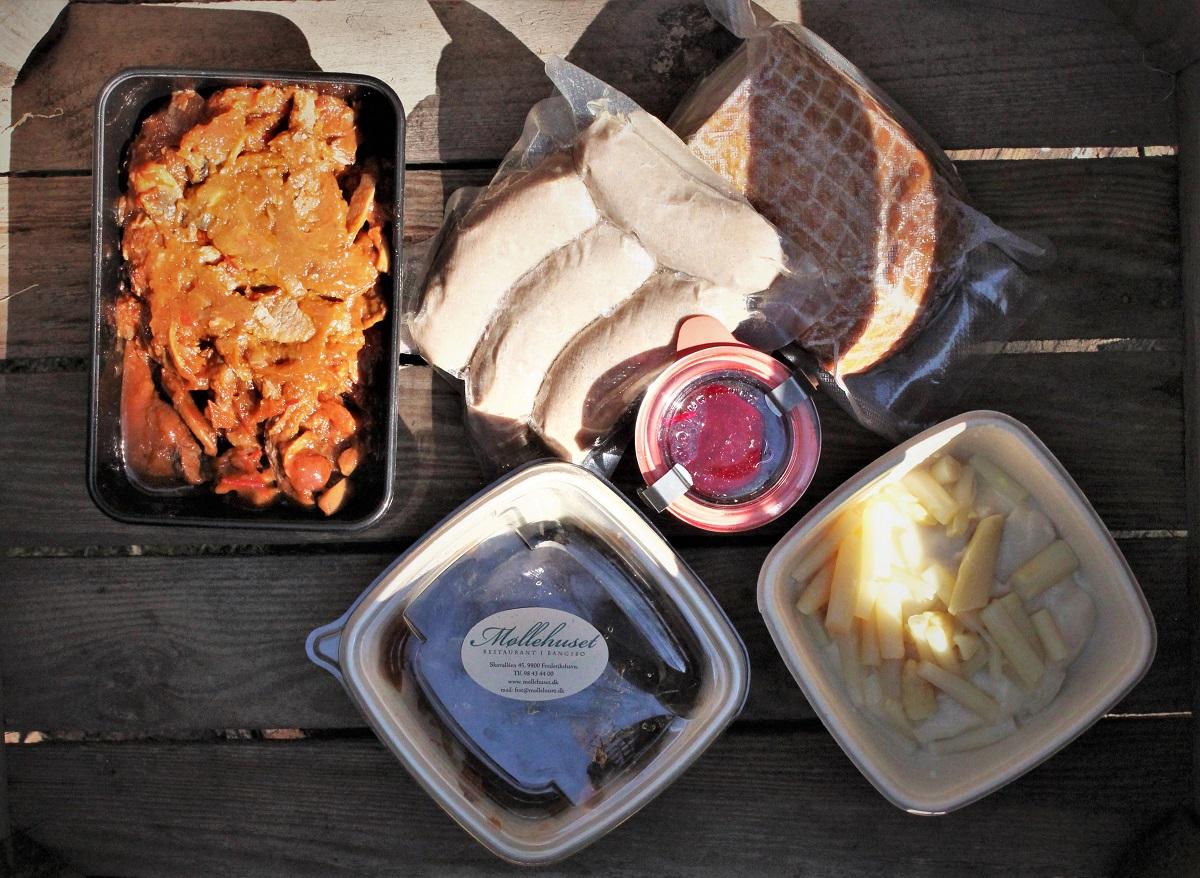 restaurant møllehuset hverdagskassen måltidakasser lokale råvarer